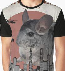 Chinzilla - Giant Chinchilla Monster Graphic T-Shirt