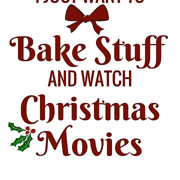 Christmas Bake and Movies by SweetLifeAttire
