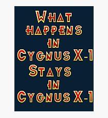 Cygnus X-1 Photographic Print