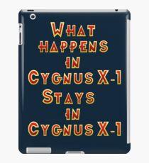 Cygnus X-1 iPad Case/Skin