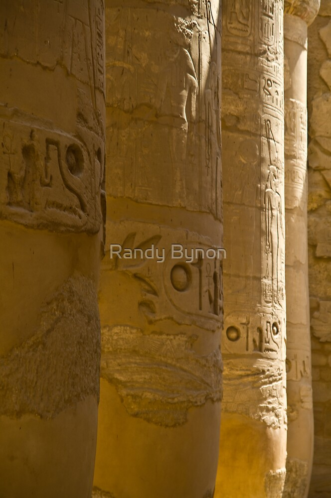 Columns of Karnak by Randy Bynon
