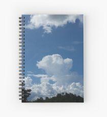 Cielo Nublado  Spiral Notebook