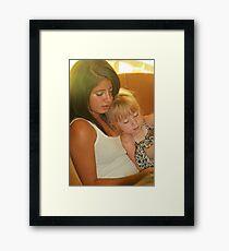 Big Sister/Little Sister Framed Print
