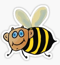 Cute Bumble Bee Sticker