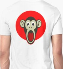 Shocked, Monkey, Shock, Surprise, Astonishment T-Shirt