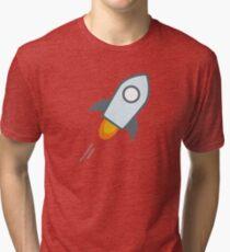 Stellar Lumens XLM Tri-blend T-Shirt