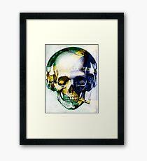 Brazil skull Framed Print