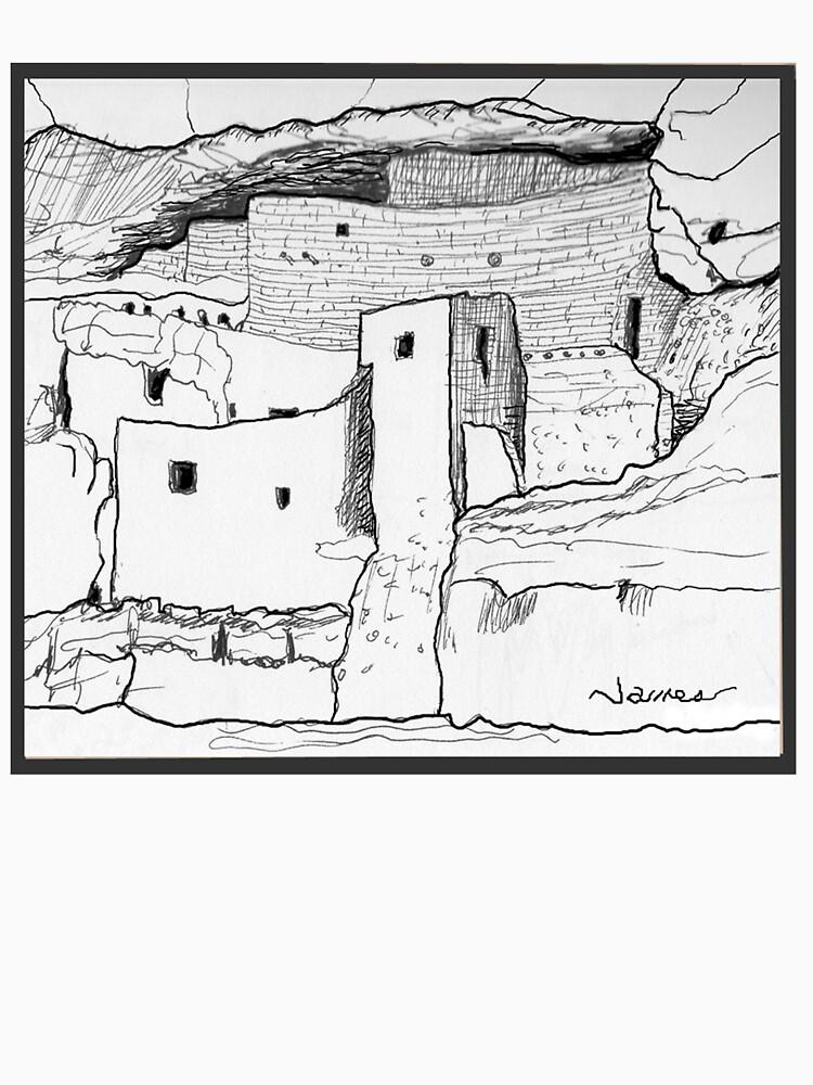 Arizona cliff dwelling by JamesLHamilton