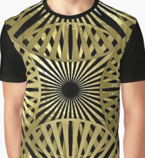 Gold Gold Graphic T-Shirt