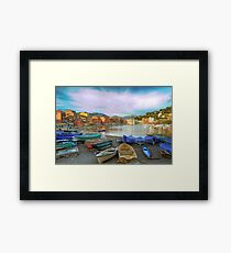 Bay of Silence Framed Print