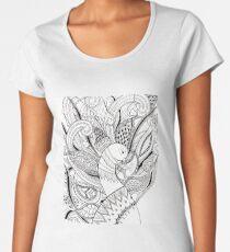 Peacock Women's Premium T-Shirt