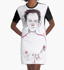LA LUCHADORA by elenagarnu Graphic T-Shirt Dress