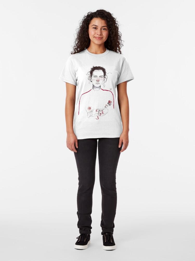 Vista alternativa de Camiseta clásica LA LUCHADORA by elenagarnu