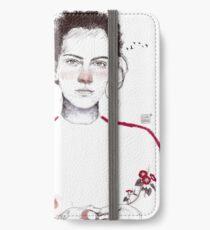 LA LUCHADORA by elenagarnu iPhone Wallet/Case/Skin
