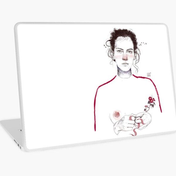 LA LUCHADORA by elenagarnu Laptop Skin