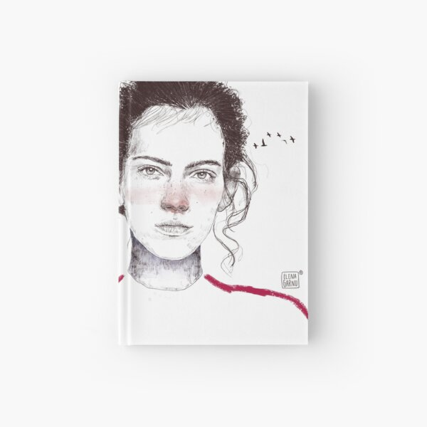 LA LUCHADORA by elenagarnu Hardcover Journal