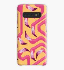 Funda/vinilo para Samsung Galaxy Flamingo Maze