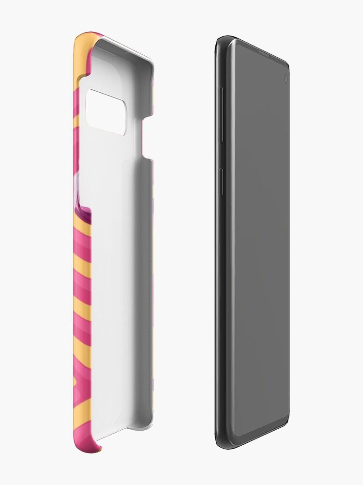 Alternative Ansicht von Flamingo Labyrinth Hülle & Klebefolie für Samsung Galaxy
