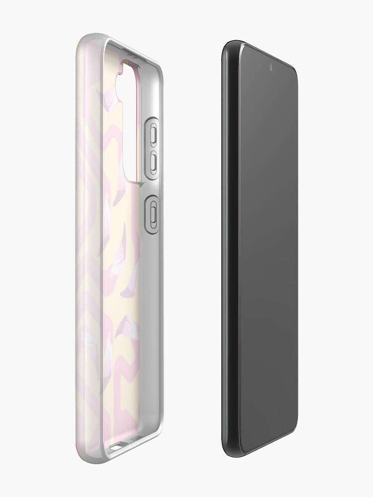 Alternate view of Flamingo Maze Case & Skin for Samsung Galaxy