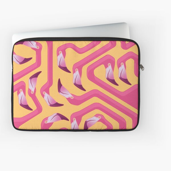 Flamingo Maze Laptop Sleeve