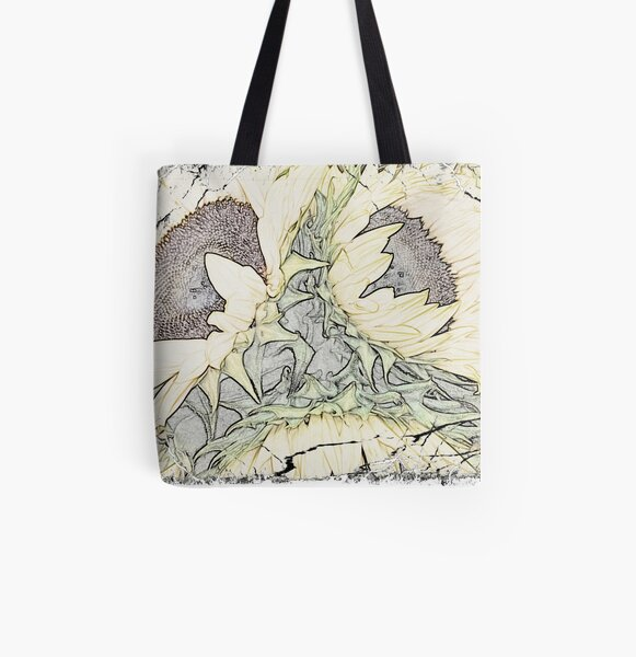 ©sunflowers All Over Print Tote Bag