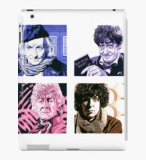 The First Four Time Travellers... iPad Case/Skin