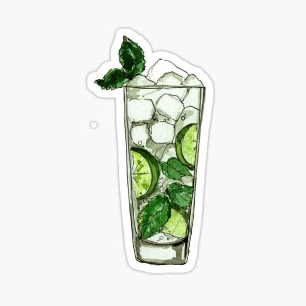 One Mojito please Sticker