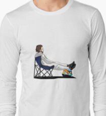 Formula 1 - Fernando Alonso deckchair - Cutout Long Sleeve T-Shirt