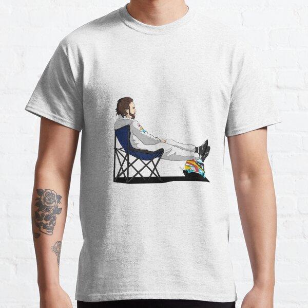Formel 1 - Fernando Alonso Liegestuhl - Ausschnitt Classic T-Shirt