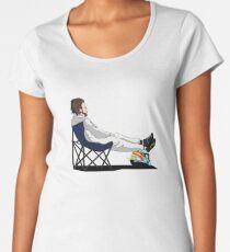 Formula 1 - Fernando Alonso deckchair - Cutout Women's Premium T-Shirt