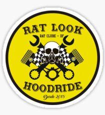 RAT LOOK , HOODRIDE , HOT ROD. Sticker