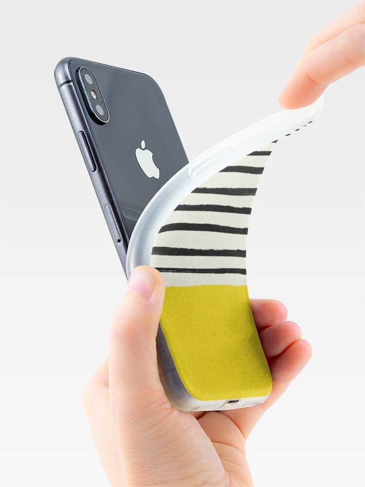 Alternate view of Sunshine x Stripes iPhone Case & Cover
