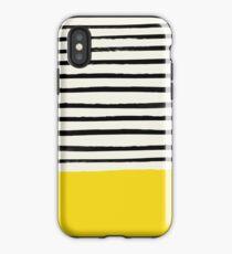 Sonnenschein x Streifen iPhone-Hülle & Cover
