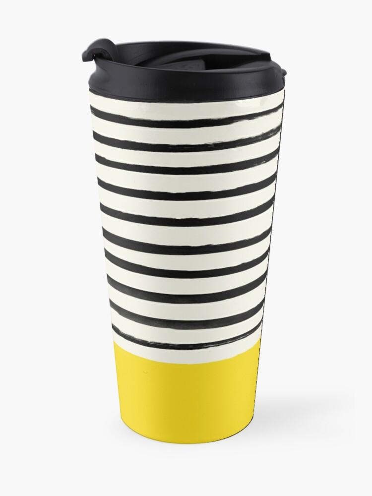 Alternate view of Sunshine x Stripes Travel Mug