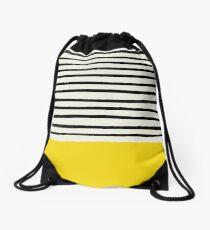 Sunshine x Stripes Drawstring Bag