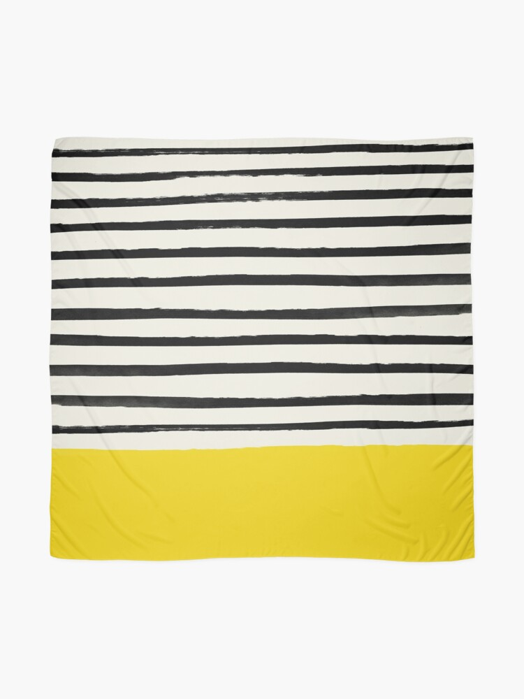 Alternate view of Sunshine x Stripes Scarf