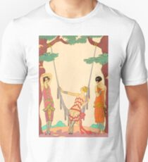 Art Nouveau ladies hanging out T-Shirt
