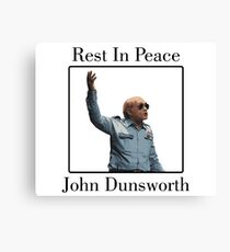 RIP John Dunsworth (Mr. Lahey from Trailer Park Boys) Canvas Print