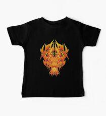 Fire Dragon Tribal Baby Tee