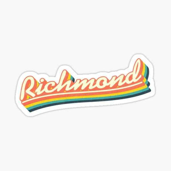 Richmond | Retro Rainbow Sticker