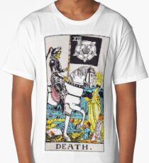 Tarot Card Death  Long T-Shirt
