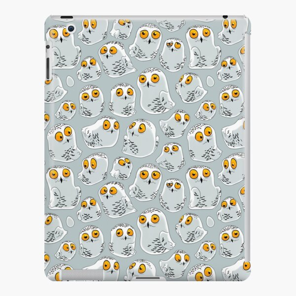 Snowy Owls pattern (Bubo scandiacus) iPad Snap Case