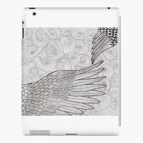 words-wings of love by ArtResponses iPad Snap Case