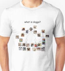 Doggo chart Unisex T-Shirt
