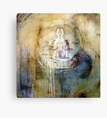 Mind off Canvas Print