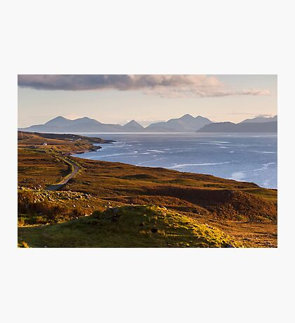 Isle of Skye from the Applecross Peninsula Photographic Print