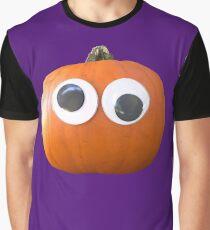 Googly-Eyed Pumpkin Graphic T-Shirt