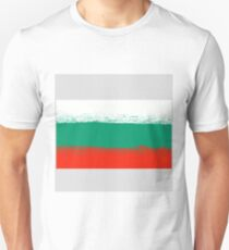 National Grunge Flag of Bulgaria Isolated. Symbol of Bulgarian Independence T-Shirt