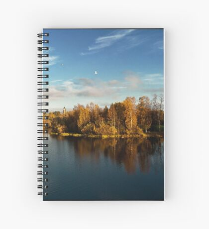 Autumn in Oulu Spiral Notebook