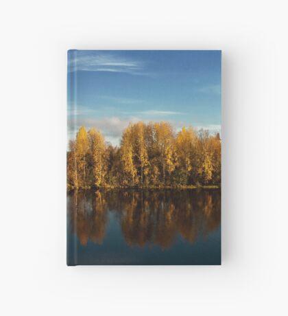 Autumn in Oulu Hardcover Journal